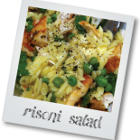 Chicken, Mint and Pea Risoni Salad