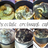 Chocolate Croissant Cake
